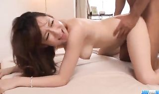 Astonishing Chinese honey, Reon Otowa got down and muddy with her married neighbor next door